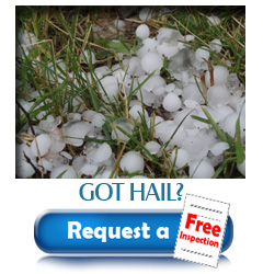 Do you have hail damage to your roof? Request a free roof inspection from Turco Roofing
